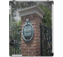 Welcome, Foolish Mortals iPad Case/Skin