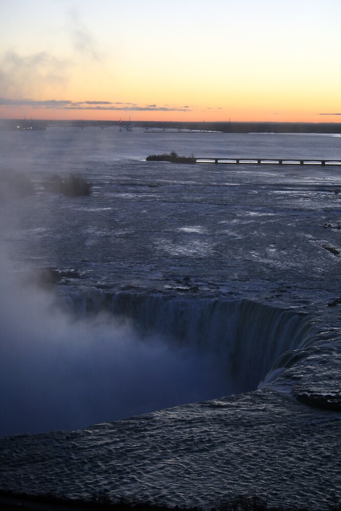 Niagara Falls at Sunrise by Hayley Evans