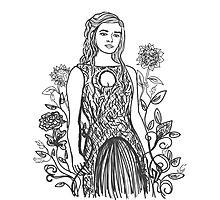 Floral Daenerys II Photographic Print