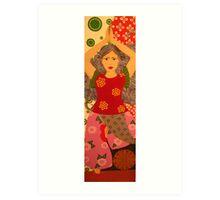 Yoga Girl #3 Art Print