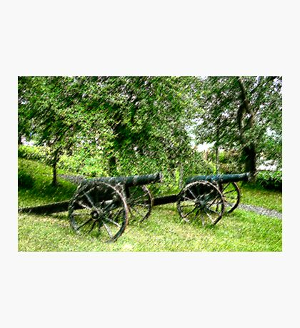 A Canon in Green by Canon Photographic Print
