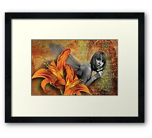 'Lily's Diary' Framed Print