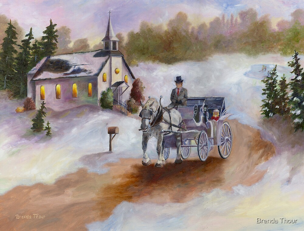 Winters Dream by Brenda Thour