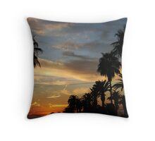 good Morning silhouette #2 Throw Pillow