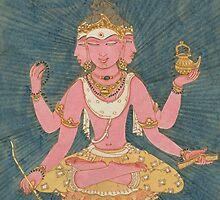Lord Brahma, the Grandisre of Creation by Swagavad-Gita