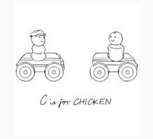 C is for CHICKEN Kids Clothes