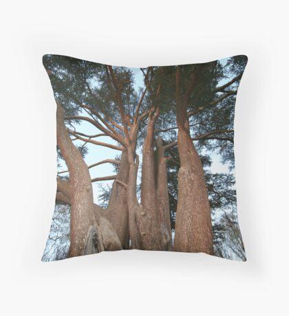 Huge Tree Throw Pillow