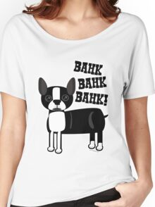 Boston Accent Terrier Women's Relaxed Fit T-Shirt