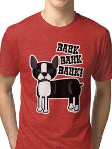 Boston Accent Terrier Tri-blend T-Shirt