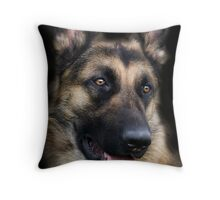 The German Sheperd Throw Pillow
