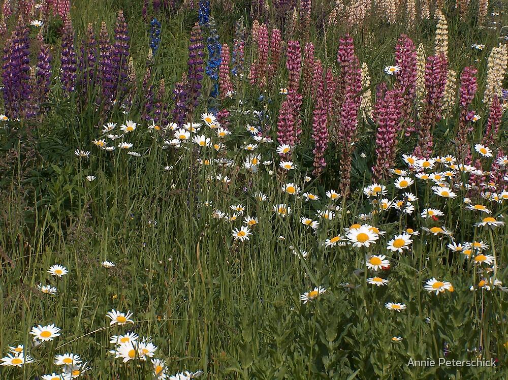 Flower Spikes 2 by Annie Peterschick