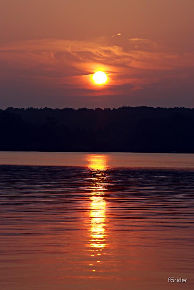 Sunrise on Lake Gaston  by f6rider