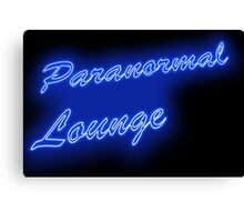 The PARANORMAL LOUNGE  Canvas Print