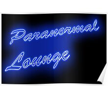 The PARANORMAL LOUNGE  Poster