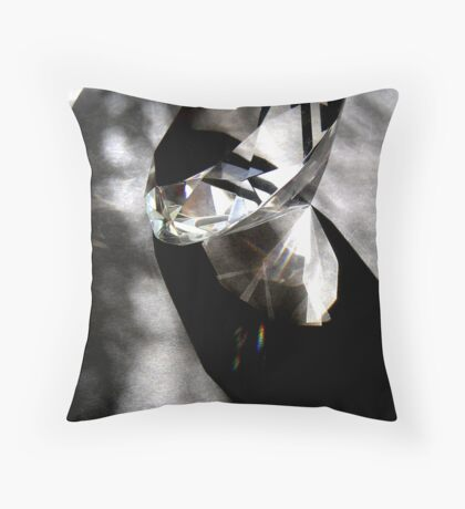 ROUGH DIAMOND Throw Pillow