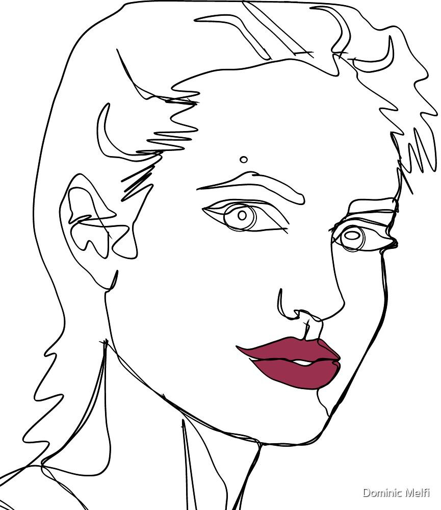 Angelina by Dominic Melfi