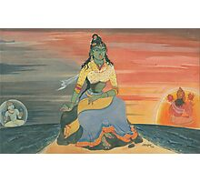 The Goddess of Knowledge  Photographic Print