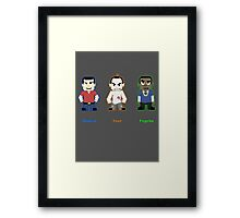 Choose Your Psycho Framed Print