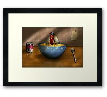 Animal - Chicken - Chicken Soup Framed Print