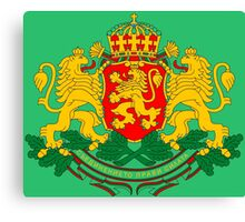 BULGARIA-COAT OF ARMS Canvas Print