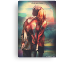 Love In Hard Times Canvas Print