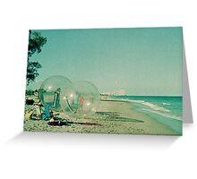 Beach Balls Greeting Card