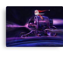 Stardust Rider Canvas Print