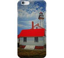 White Fish Point- Michigan iPhone Case/Skin