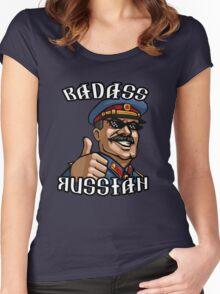 Stalin - Badass Russian Women's Fitted Scoop T-Shirt