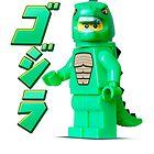 Godzilla by jarodface