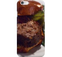 Two Run Farms Lamb Meatloaf at Cafe Amelie iPhone Case/Skin