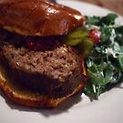 Two Run Farms Lamb Meatloaf at Cafe Amelie by Daniel  Rarela