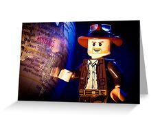 Indiana Jones Greeting Card