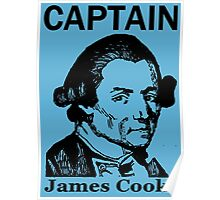 CAPTAIN JAMES COOK Poster