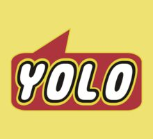 YOLO by Bubble-Tees.com Kids Clothes