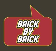 Brick by Brick by Bubble-Tees.com by Bubble-Tees