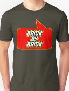 Brick by Brick by Bubble-Tees.com T-Shirt