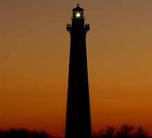Cape Hatteras Sunset by Tom Michael Thomas