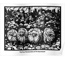The Four Pomeranians Of The Apocalypse  Poster