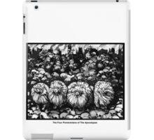 The Four Pomeranians Of The Apocalypse  iPad Case/Skin