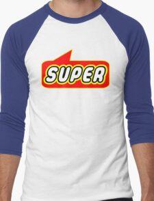 SUPER by Bubble-Tees.com Men's Baseball ¾ T-Shirt