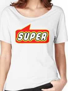 SUPER by Bubble-Tees.com Women's Relaxed Fit T-Shirt