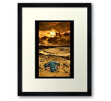 Absence Without Leave Framed Print