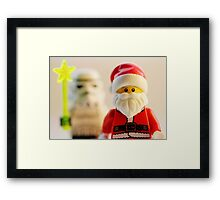 I'm your fairy godtrooper Framed Print