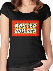 MASTER BUILDER Women's Fitted Scoop T-Shirt