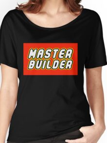 MASTER BUILDER Women's Relaxed Fit T-Shirt
