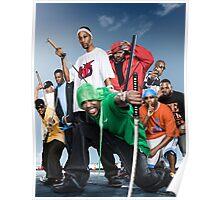 Wu Tang Clan- Katana Poster