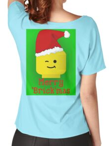 Merry Christmas Santa Minifig by Customize My Minifig Women's Relaxed Fit T-Shirt