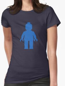 Minifig [Blue] Womens Fitted T-Shirt