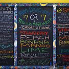 Chalkboard Drink Menu at The French Market, New Orleans by Daniel  Rarela